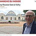 Henry <b>Rousso</b> à Vichy