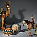 Tang dynasty's ceramics from a private english collection at christie's london, 15 may 2018