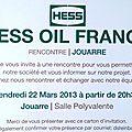 Hess vous invite à Jouarre le 22 mars
