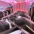 Nouveaux sièges <b>Virgin</b> Atlantic pour 2019