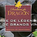 Dans votre boutique retrouvez les vins du domaine du dragon de daguignan