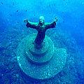 Rélocos - La statue du Christ des <b>abysses</b> rend hommage aux disparus en mer