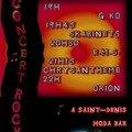 Fête de la Musique 2007 au Moda bar (Affiche concert)