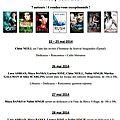 Milady tour 2014 - rencontres d'auteurs et dédicaces