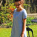 L'heure bleue : une petite robe très rétro...