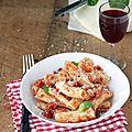 <b>Sauce</b> <b>tomate</b> express bacon champignon pour plat de pâtes original