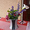 Un vase .... en cartonnage