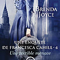 Une terrible menace ❉❉❉ brenda joyce