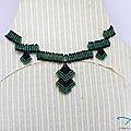 <b>Challenge</b> collier moderne et structuré - Modern collar <b>challenge</b>