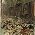 Meissonnier, souvenir de guerre civile (barricade rue de Mortellerie)