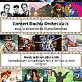 Dixième concert de dochia orchestra jr.
