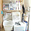 Aménagement de <b>buanderie</b> - Laundry organization