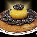 Jaune d'œuf confit à la <b>truffe</b> <b>noire</b> !