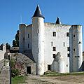 Le Château Féodal de <b>Noirmoutier</b>.