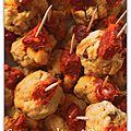 Cookies au chorizo, parmesan et noix
