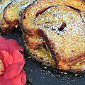 Brioche à la <b>cannelle</b> façon pain perdu: pas perdu pour tout le monde!