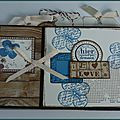 Mini album love - cathyscrap85