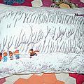 coussin enfants hiver