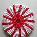 Frisbee soleil japonais