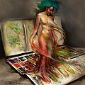 Peintures surréaliste
