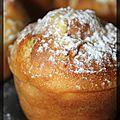 P'tits muffins à l'abricot fourrés mascarpone