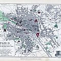 Plans anciens de paris
