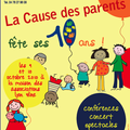 Les 10 ans de la cause des parents