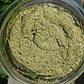 Mousse de feuilles de blette au tahin façon hoummous sans gluten ni produits laitiers