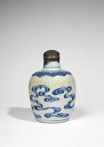 Bouteille, Chine pour le Vietnam, 18e siècle