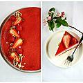 Entrêmet aux fruits rouges, yaourt grec et pistaches