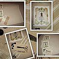 Série de sets de table couture...