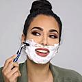 Face shaving ....