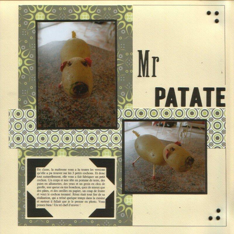 Mr patate