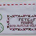 Mallet du lac isabelle art postal fête du fil 2015