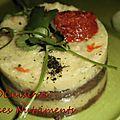 aubergine polenta