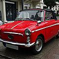 <b>AUTOBIANCHI</b> Bianchina 500 cabriolet 1964
