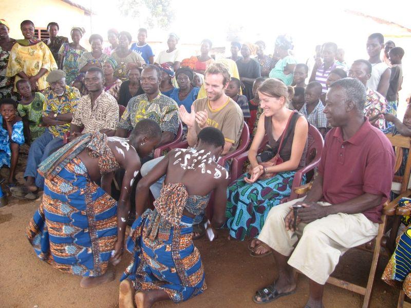 fête d arrivée à Kambolé 2