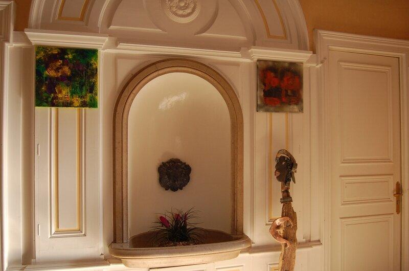 La fontaine du hall
