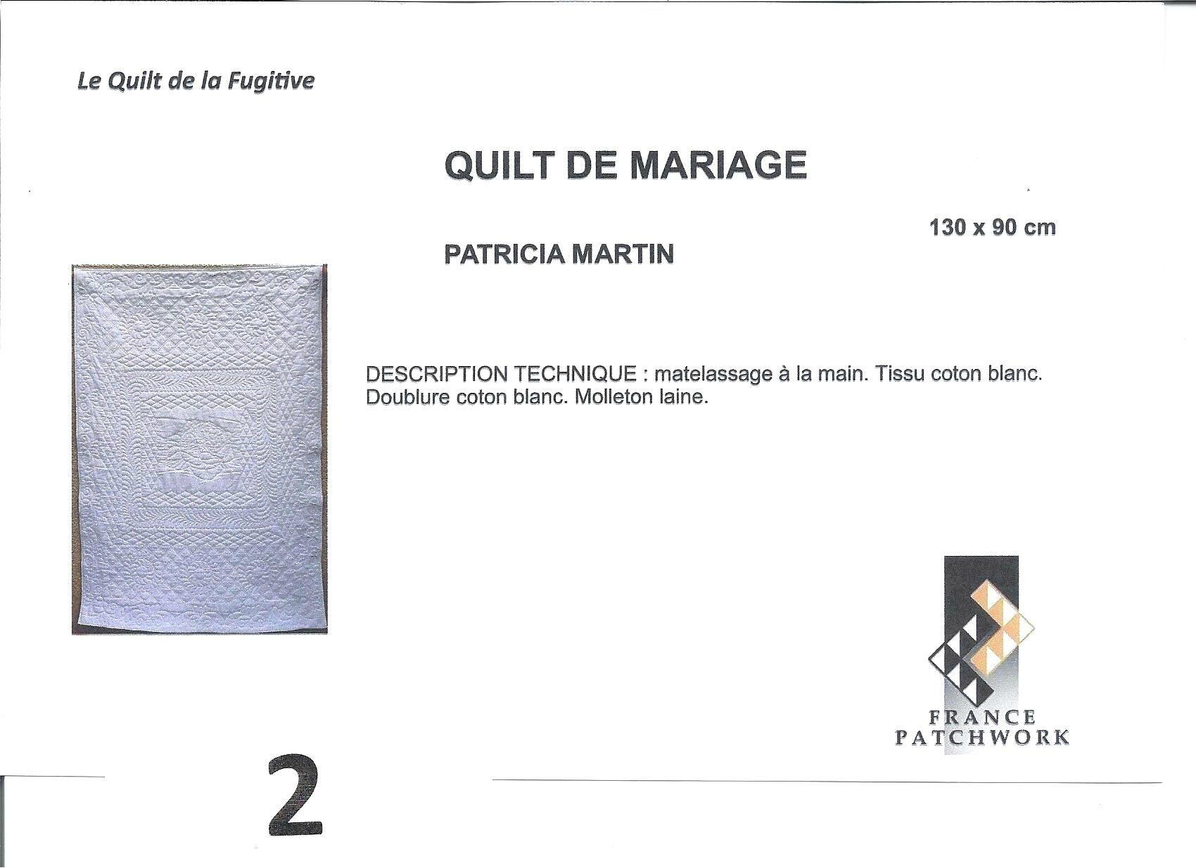 01_Maïté TANGUY_Quilt en Sud