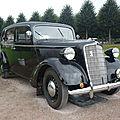 OPEL Super Six 2.0 Liter Pullman Taxi 1935 Schwetzingen (1)