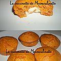 Muffins à la sauce tomate cerise et menthe, coeur de mozzarella