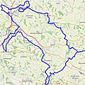 <b>GPS</b> <b>drawing</b> near Toulouse : sanglier