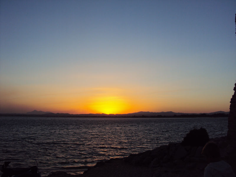 Le coucher de soleil du dimanche 29 août 2010