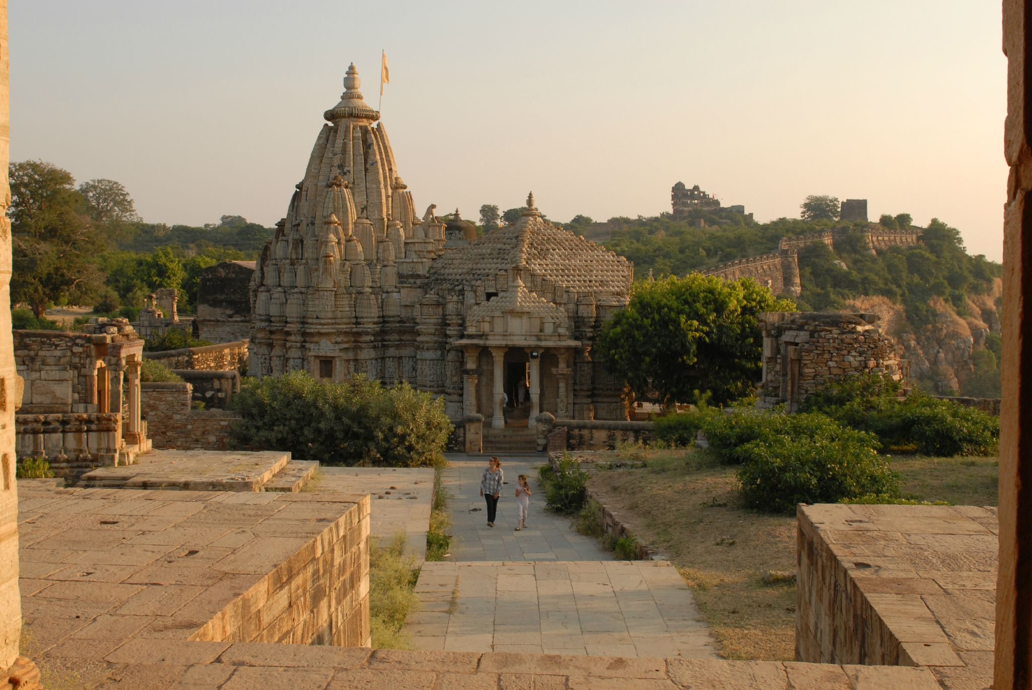 le temple de Samadhisvara, Chittorgarh