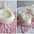 Bonbonière - bougies