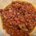 Chili aux azikis
