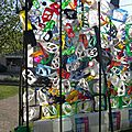 COMPOSITION recyclage BIDONS lessive - Rognac employés municipaux fête Développement Durable