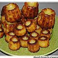 Canneles bordelais maison