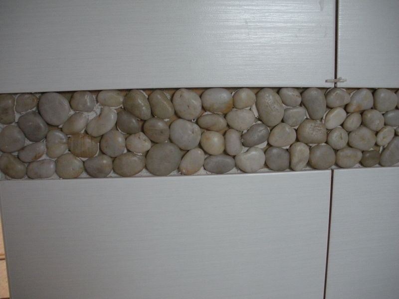Galet Salle De Bain  Notre Blog  LAvancement De Notre Maison