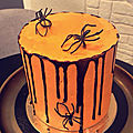 Layer cake halloween